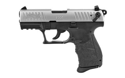 "Wal P22q 22lr 3.4"" Nickel 10rd"