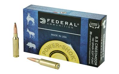 Fed Pwrshk 6.5creed 140gr Sp 20/200