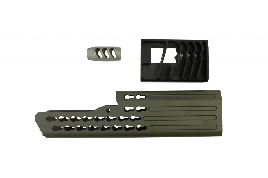 Rat Worx ZRX 9mm Integral Suppressor