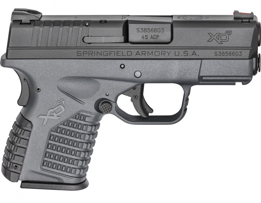 "HS Produkt/springfield Inc Xds-45acp 3.3"" Grey"