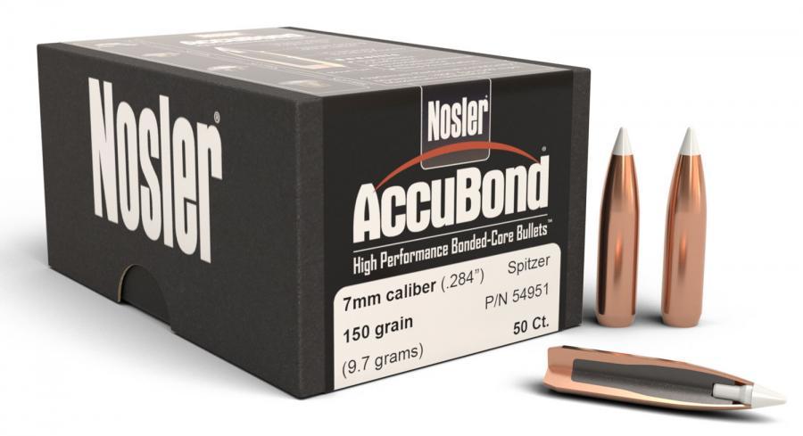 Nosler 54951 Accubond  7mm .284 150