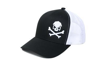 Phu Skull Trucker Hat Blk/whi