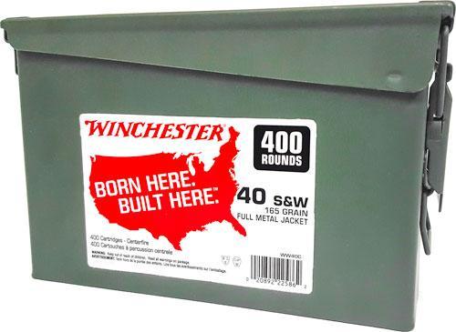 Win Ammo .40sw (case Of 2)