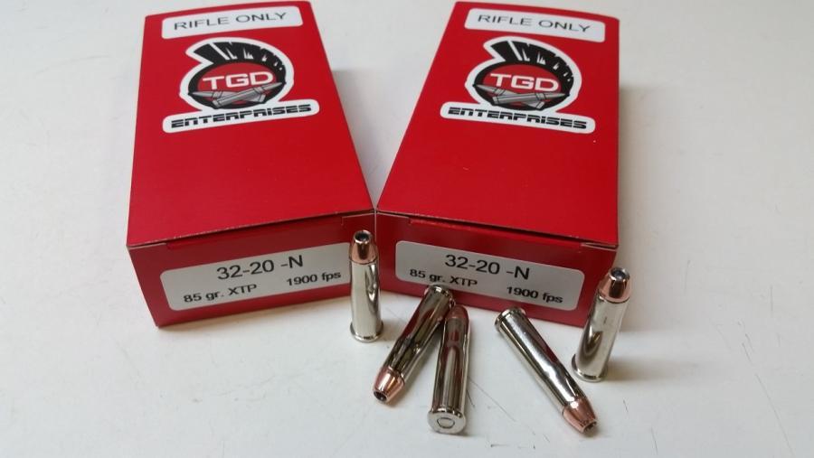 TGD 32-20 WCF 85 GR XTP