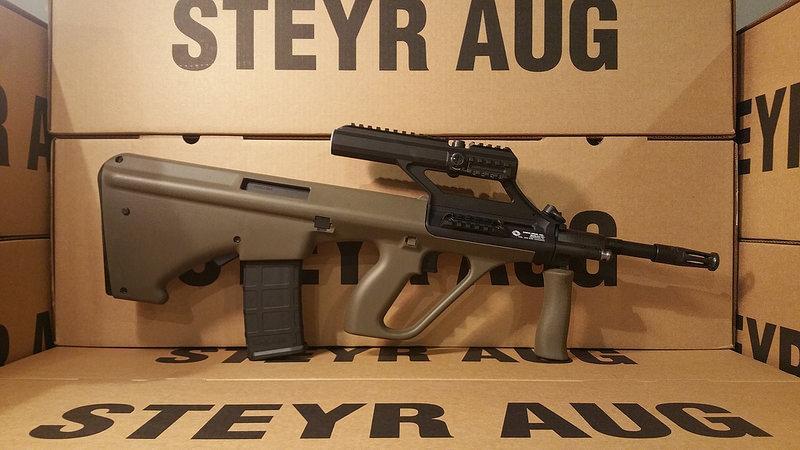 AUG M1 ODG Accepts Ar15 Mags | USA Firearms