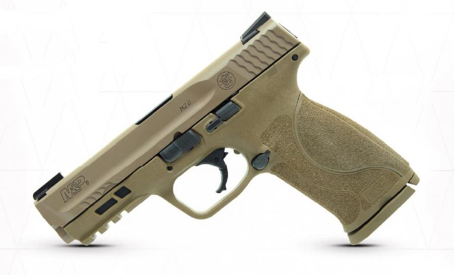 S&W M&p9 M2.0 9mm FDE 17+1