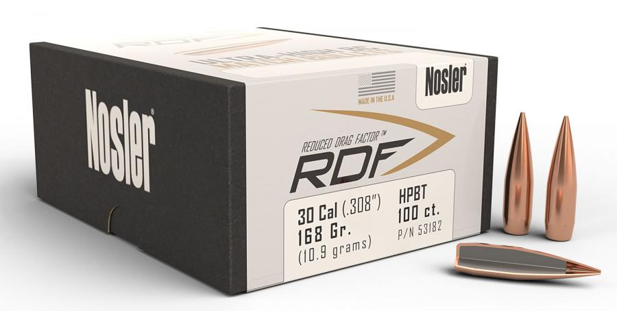 Nosler 53182 RDF Match  30 Caliber