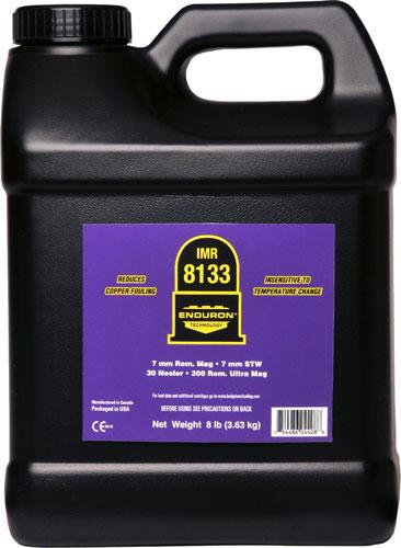 Imr Powder 8133 8lb. Can