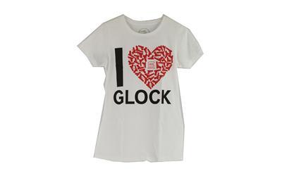 Glock MED White I Love Glock