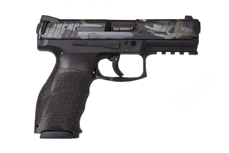 "Vp9 9mm Blk/camo 4.1"" 15+1 Fs"