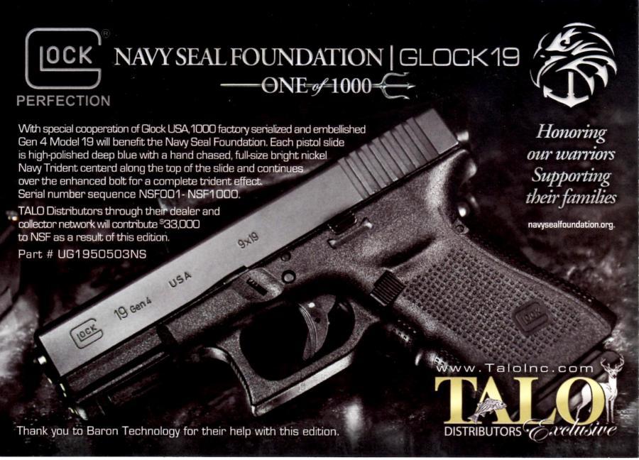 Talo Glock 19 GEN 4 Navy
