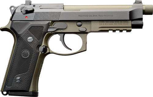 "Beretta M9a3 G 9mm 5.2"" Ns"
