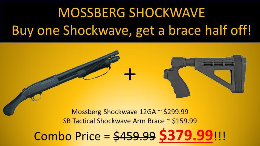12ga Shockwave Brace Combo