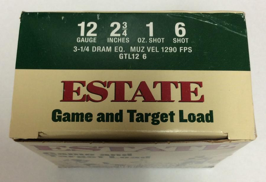 Estate Game and Target Load 12ga