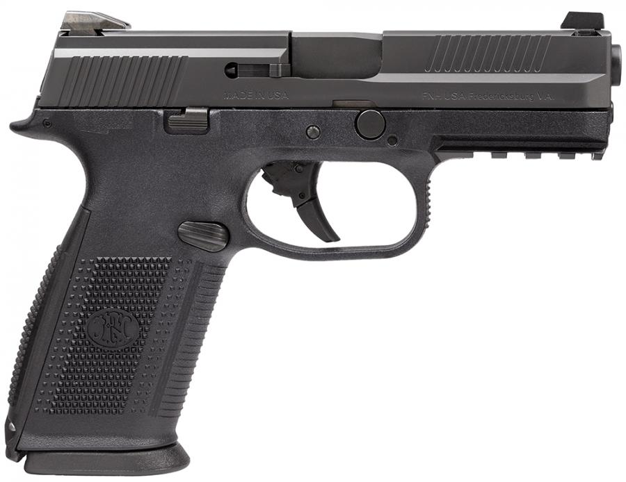 "FNH FNS 9mm 4"" 17+1 Blk"