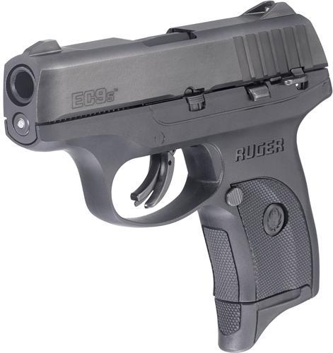 """Ruger Ec9s 9mm 3.1"""" Blk 7rd"""