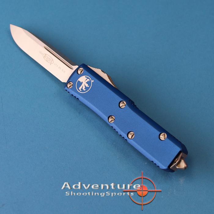 231-4bl Microtech Utx-85 S/E Satin Blue