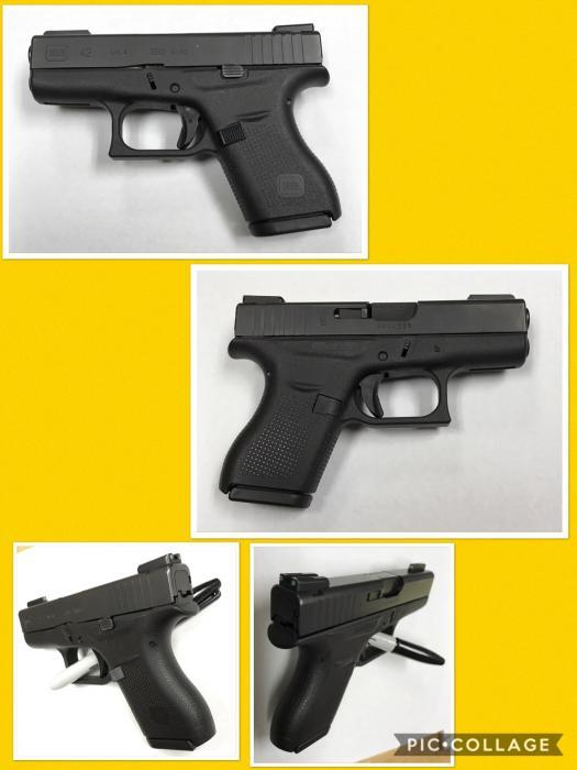 "Glock Inc 42 380 Auto 3"""