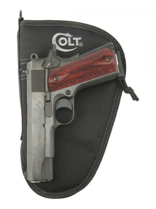 "Drago Colt 10.5"" Pistol Case Black"
