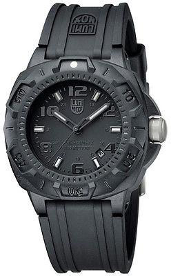 Luminox Mens Sentry Blackout Military Divers