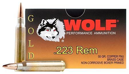 Wolf Gold 223 Rem/5.56 Nato Full