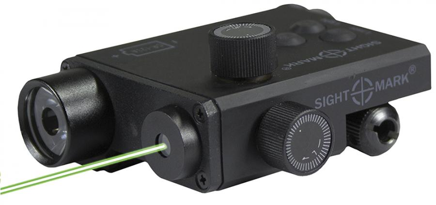 Sightmark Lopro Combo Laser/flashlight Grn Laser