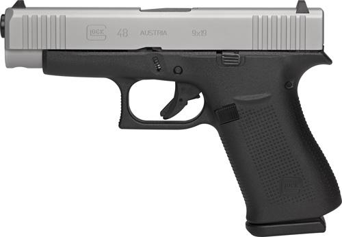 "Glock 48 9mm 4.17"" Barrel Silver"