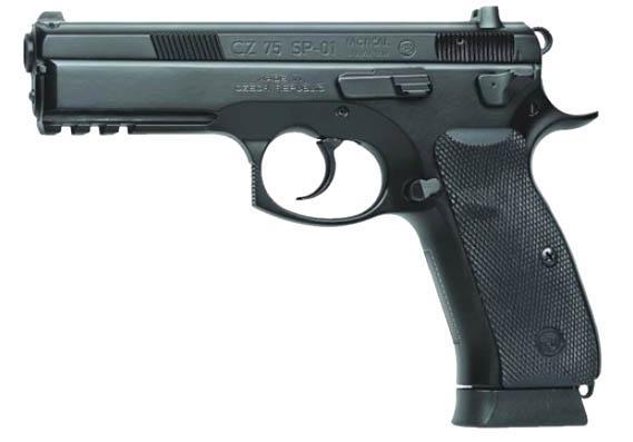 """CZ Cz-75 Sp-01 9mm 4.7"""" 19+1"""