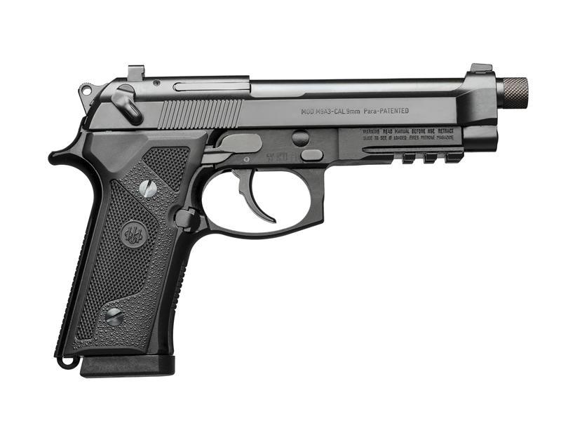 Beretta M9a3fs 9mm Da Pst 17rd