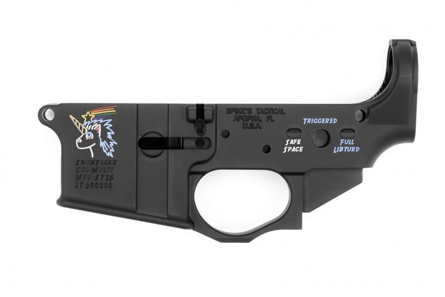 Spike's Tactical Color Filled Snowflake Lower