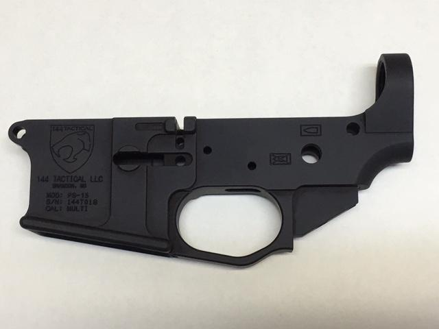 144 Tactical Stripped Billet Lower Receiver