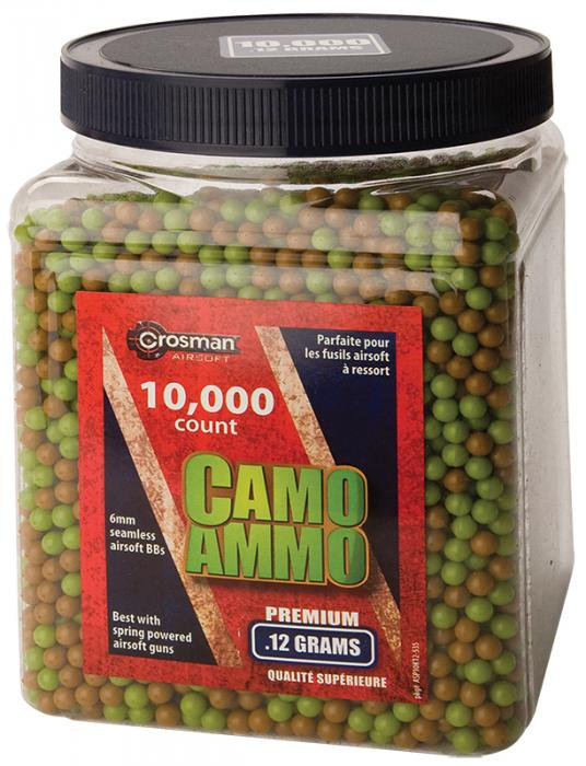 Crosman Camo Ammo BBs .12 gr