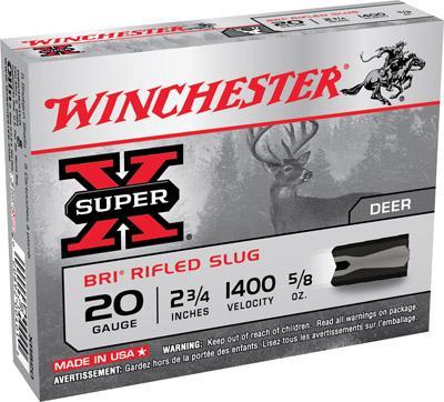 Winchester Super X Slugs 20 ga