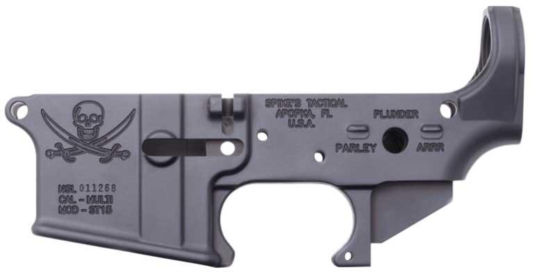 Spikes Stls016 Stripped Lower Pirate Ar-15