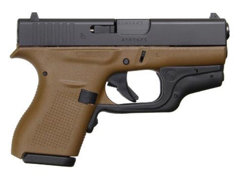 """Glock Inc 42 .380auto 3.26"""" 6rd"""