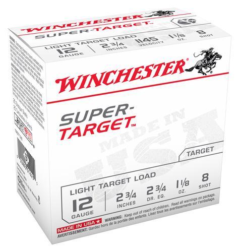 Win Ammo Super Target 12ga.