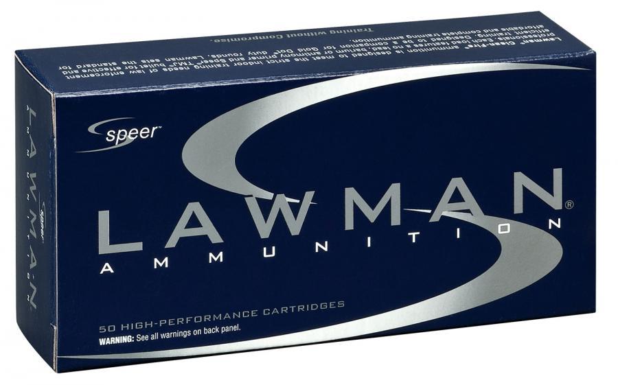 Speer 53833 Lawman CF 38s+p 158