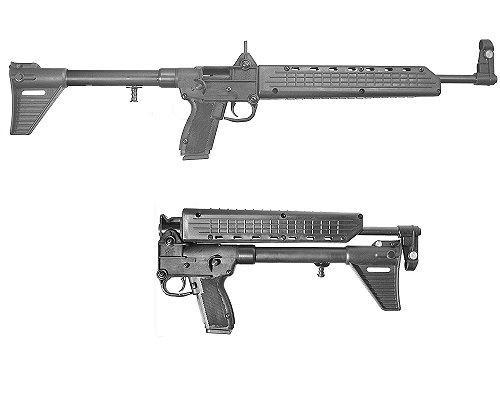 Kel-tec Sub-2000 Rifle Takes Beretta 92