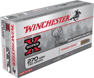 Winchester Ammo Super X 270 Win
