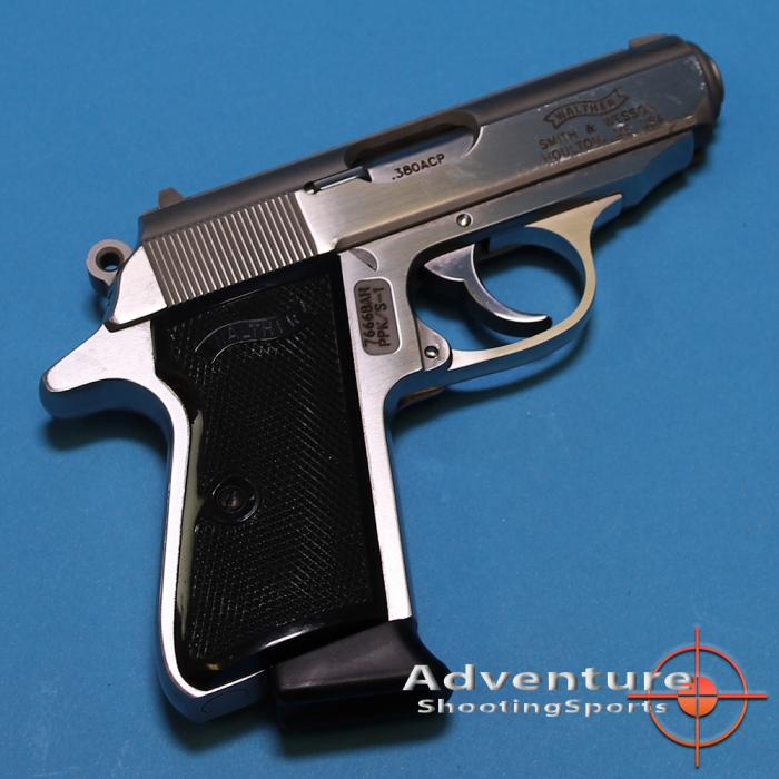 Walther Ppk/s .380 Stainless
