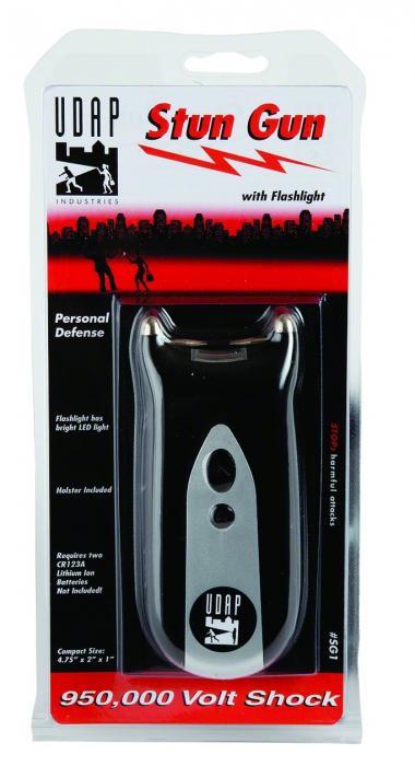 Udap Personal Defense Stun GUN W/flashlight