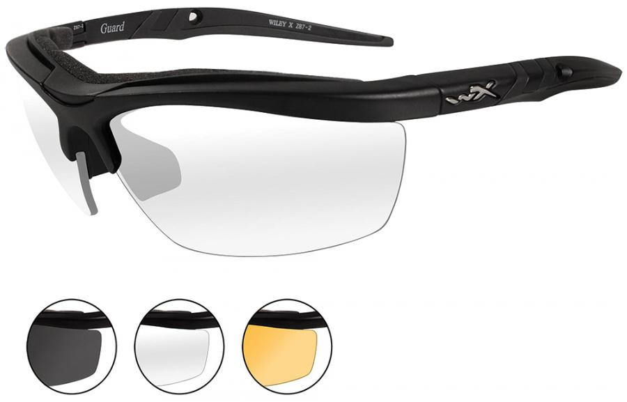 Wiley X Eyewear Guard Safety Glasses