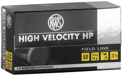 Rws 22lr High Vel Hp 40gr
