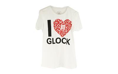 Glock LGE White I Love Glock