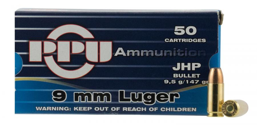 PPU Ppr9.7 Handgun 9mm Luger 147