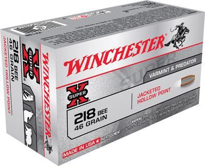 Winchester Ammo Super X 218 Winchester