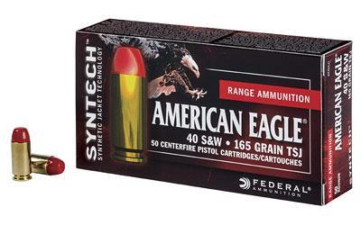 Federal Am Eagle 40sw 180gr Tsj