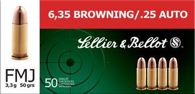 Magtech Sellier & Bellot 25 ACP