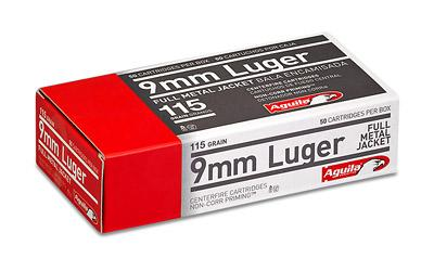 Aga 9mm 115 Gr Fmj 50ct/box