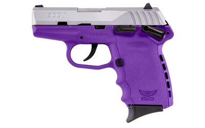 """Sccy Cpx-1 9mm 10rd Sat/pur 3.1"""""""